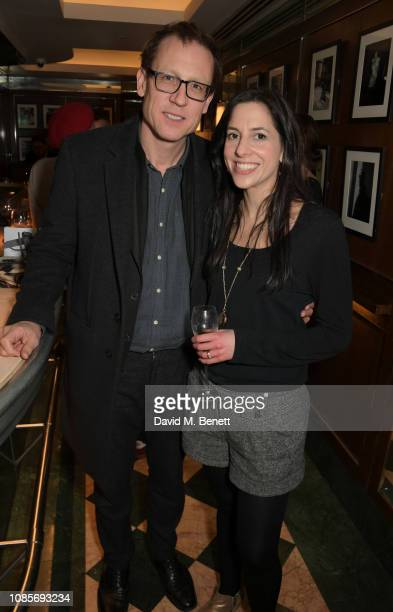 Tobias Menzies attends the Platform Presents Poetry Gala 2019 after party at J Sheekey Atlantic Bar on January 20 2019 in London England