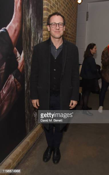 Tobias Menzies attends the press night performance of Albion at The Almeida Theatre on February 5 2020 in London England