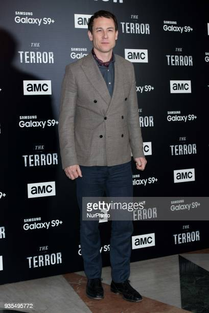Tobias Menzies attends 'The Terror' AMC serie premiere in Madrid on March 20 2018