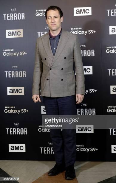 Tobias Menzies attends 'The Terror' premiere at the Teatro de la Luz Philips on March 20 2018 in Madrid Spain