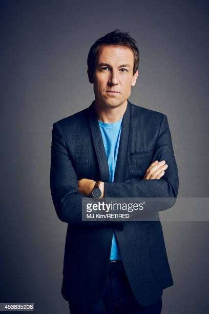 Tobias Menzies poses for a portrait at the Getty Images Portrait Studio powered by Samsung Galaxy at ComicCon International 2014 on July 24 2014 in...