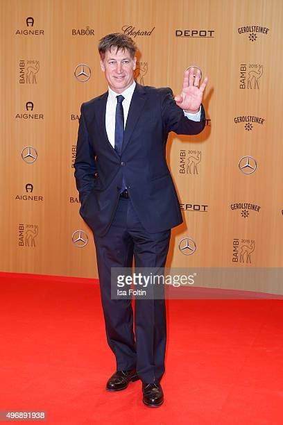 Tobias Moretti attends the Bambi Awards 2015 at Stage Theater on November 12 2015 in Berlin Germany