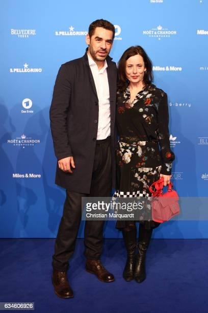 Tobias Oertel and guest attend the Blue Hour Reception hosted by ARD during the 67th Berlinale International Film Festival Berlin on February 10 2017...