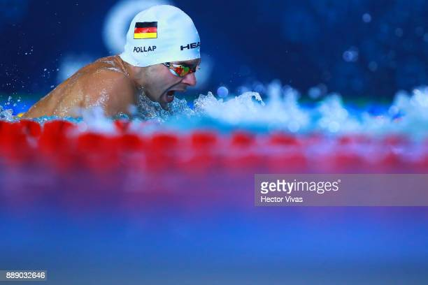Tobias Pollap of Germany competes in Men's 200 m Individual Medley SM67 during day 6 of the Para Swimming World Championship Mexico City 2017 at...