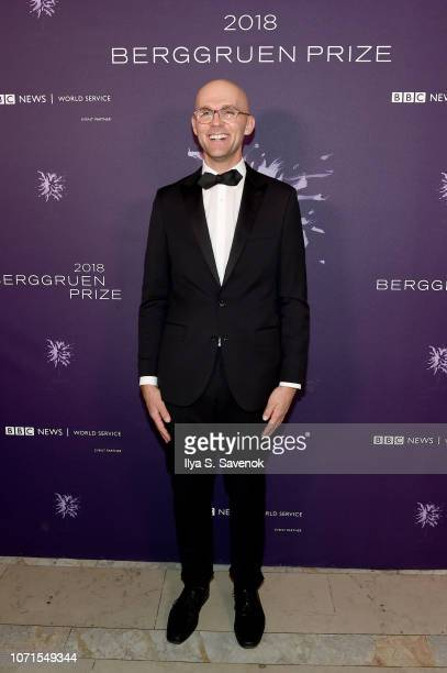 Tobias Rees attends the Third Annual Berggruen Prize Gala at the New York Public Library on December 10 2018 in New York City