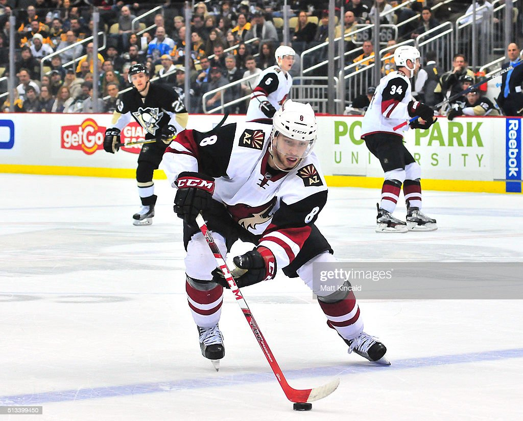 Arizona Coyotes v Pittsburgh Penguins