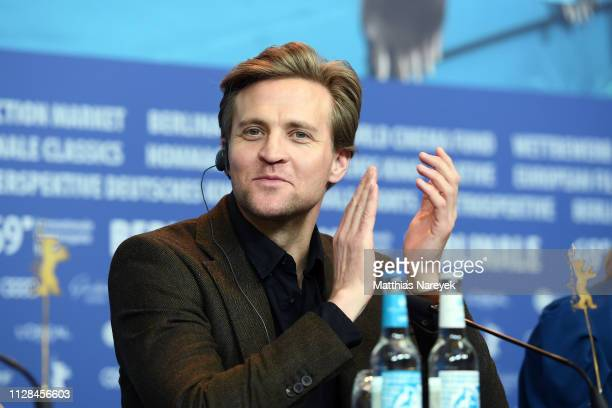 Tobias Santelmann attends the Out Stealing Horses press conference during the 69th Berlinale International Film Festival Berlin at Grand Hyatt Hotel...