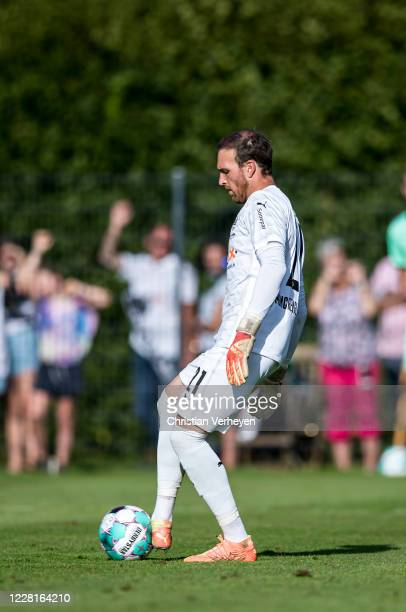 Tobias Sippel of Borussia Moenchengladbach in action during the Preseason Friendly match of Borussia Moenchengladbach and SC Paderborn as part from...