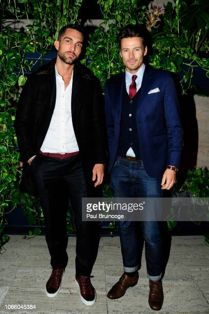 Tobias Sorensen and Alex Lundqvist attend Netflix Hosts The After Party For 'Roma' at The Pool on November 27 2018 in New York City