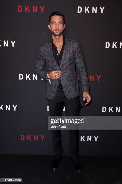 Tobias Sorensen attends as DKNY turns 30 with special live performances by Halsey and The Martinez Brothers at St Ann's Warehouse on September 09...