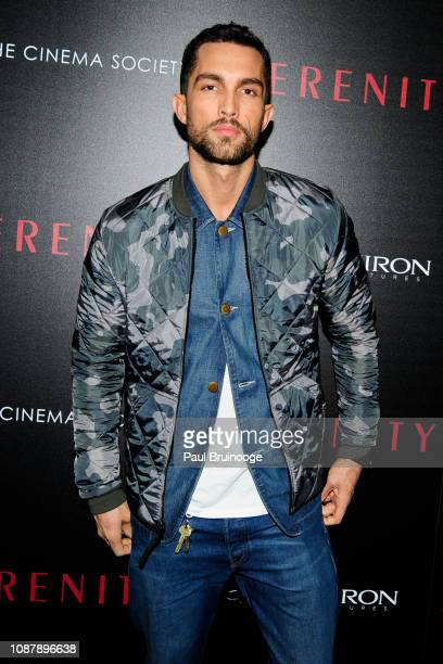Tobias Sorensen attends Aviron Pictures With The Cinema Society Host A Special Screening Of Serenity at Museum of Modern Art on January 23 2019 in...