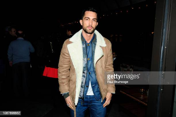 Tobias Sorensen attends Aviron Pictures with The Cinema Society host the after party for Serenity at Magic Hour Rooftop Bar Lounge on January 23 2019...