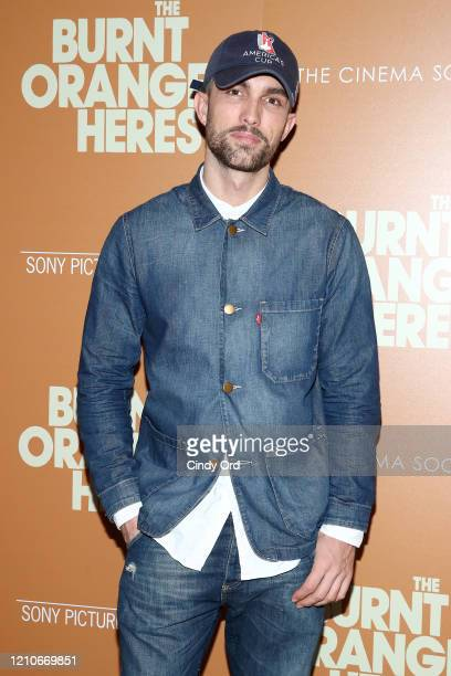 """Tobias Sorensen attends Sony Pictures Classics and The Cinema Society Special Screening of """"The Burnt Orange Heresy"""" at The Roxy Cinema on March 05,..."""