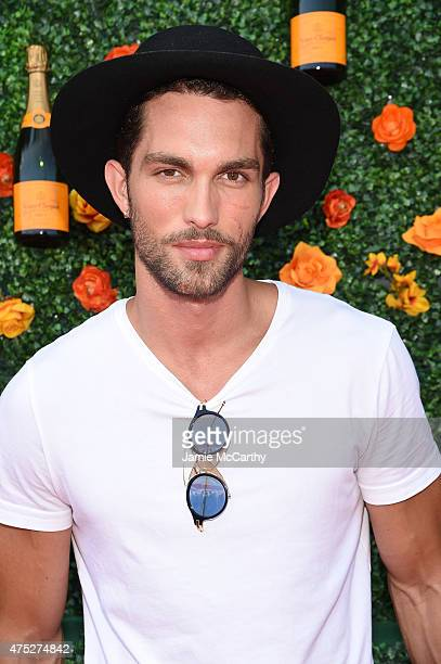 Tobias Sorensen attends the EighthAnnual Veuve Clicquot Polo Classic at Liberty State Park on May 30 2015 in Jersey City New Jersey