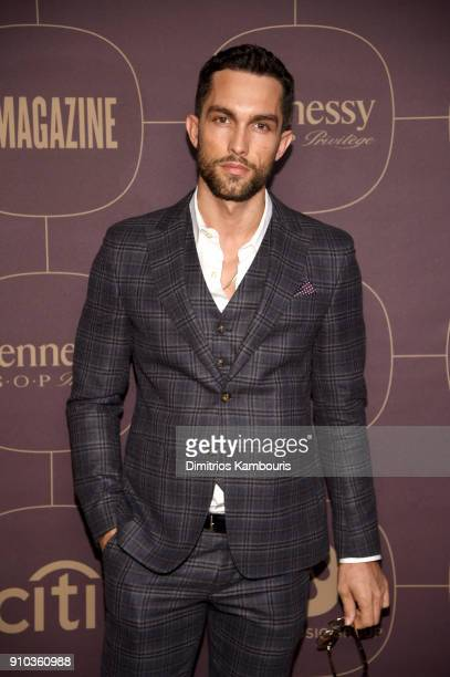 Tobias Sorensen attends the Warner Music Group PreGrammy Party in association with V Magazine on January 25 2018 in New York City