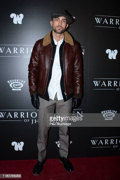Tobias Sorensen attends The Wing Hosts The World Premiere Of Roadside Attractions' The Warrior Queen Of Jhansi at Metrograph on November 13 2019 in...