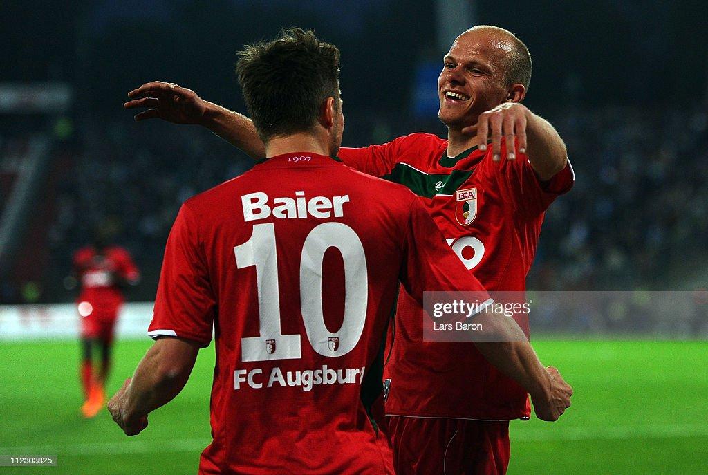 Karlsruher SC v FC Augsburg - 2. Bundesliga