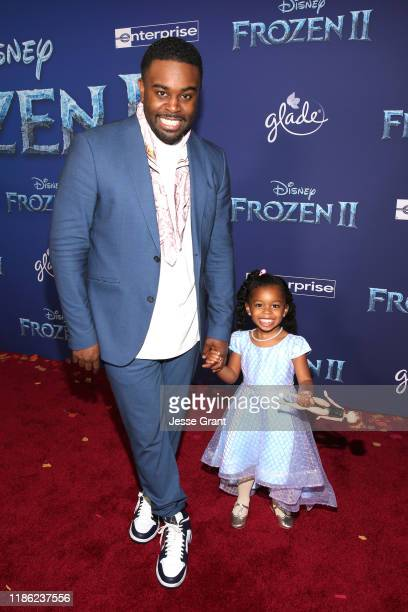 Tobie Windham and guest attends the world premiere of Disney's Frozen 2 at Hollywood's Dolby Theatre on Thursday November 7 2019 in Hollywood...