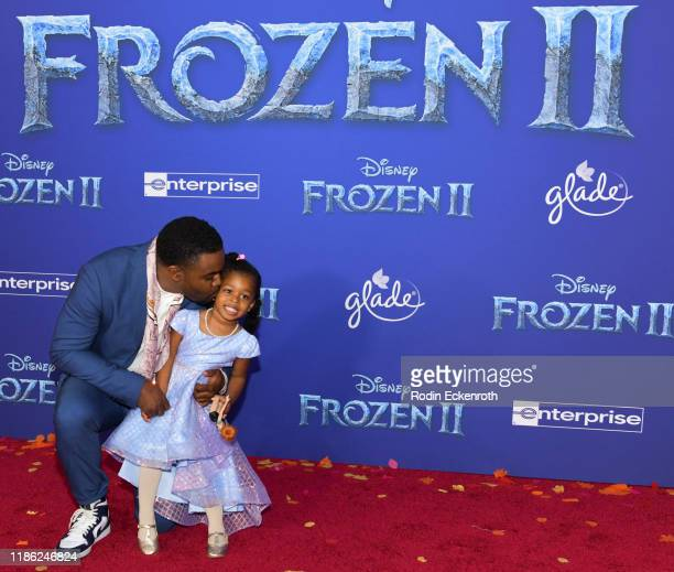 Tobie Windham attends the Premiere of Disney's Frozen 2 at Dolby Theatre on November 07 2019 in Hollywood California