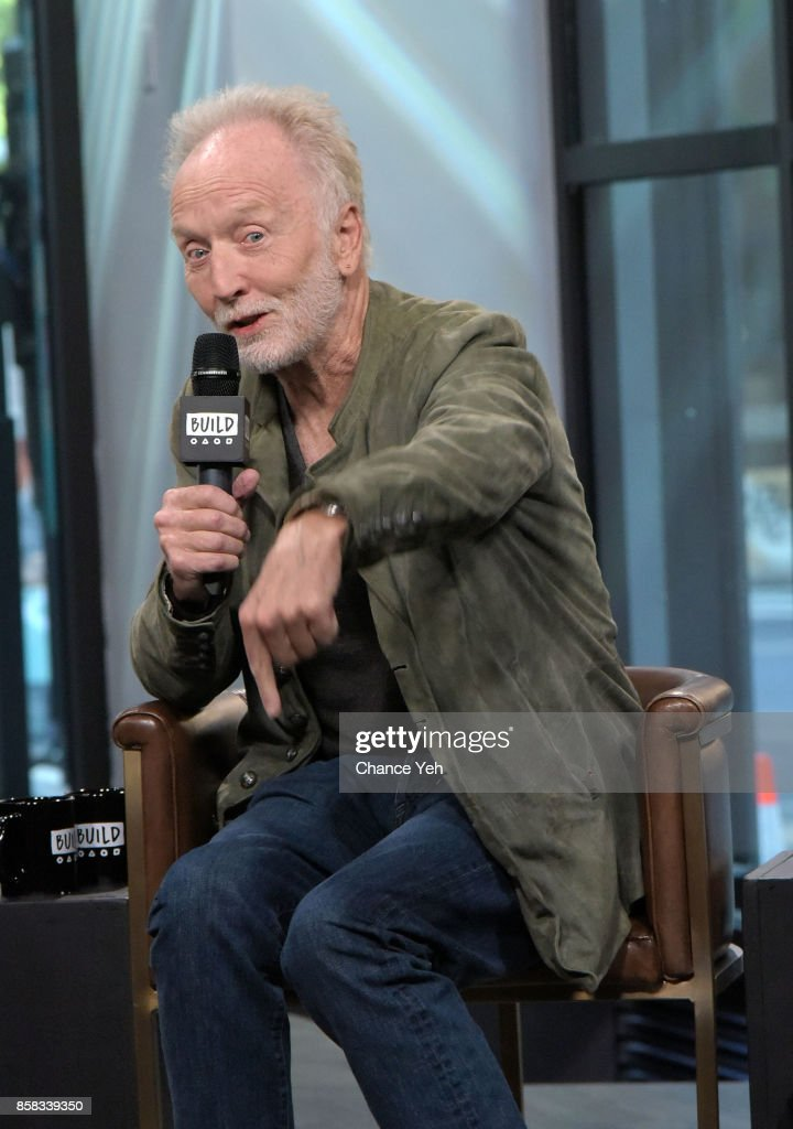 Tobin Bell attends Build series to discuss 'Jigsaw' at Build Studio on October 6, 2017 in New York City.
