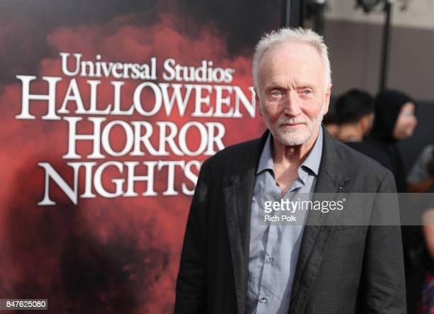 Tobin Bell attends Halloween Horror Nights Opening Night Red Carpet at Universal Studios Hollywood on September 15 2017 in Universal City California