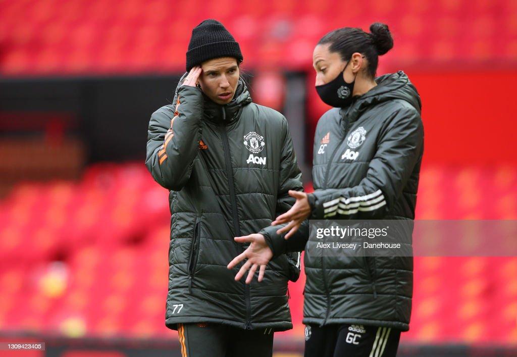 Manchester United Women v West Ham United Women - Barclays FA Women's Super League : News Photo