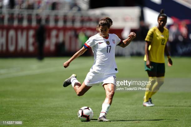 Tobin Heath of the United States during an international friendly match between the womens national teams of the United States and South Africa on...
