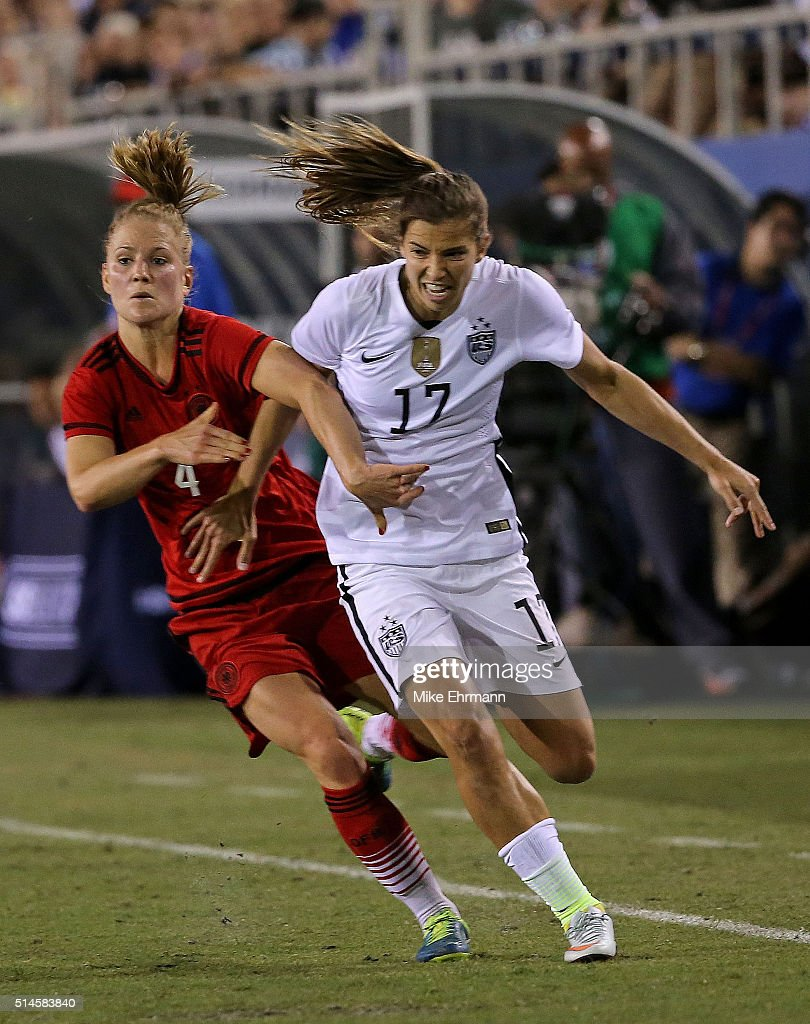 2016 SheBelieves Cup - United States v Germany : News Photo