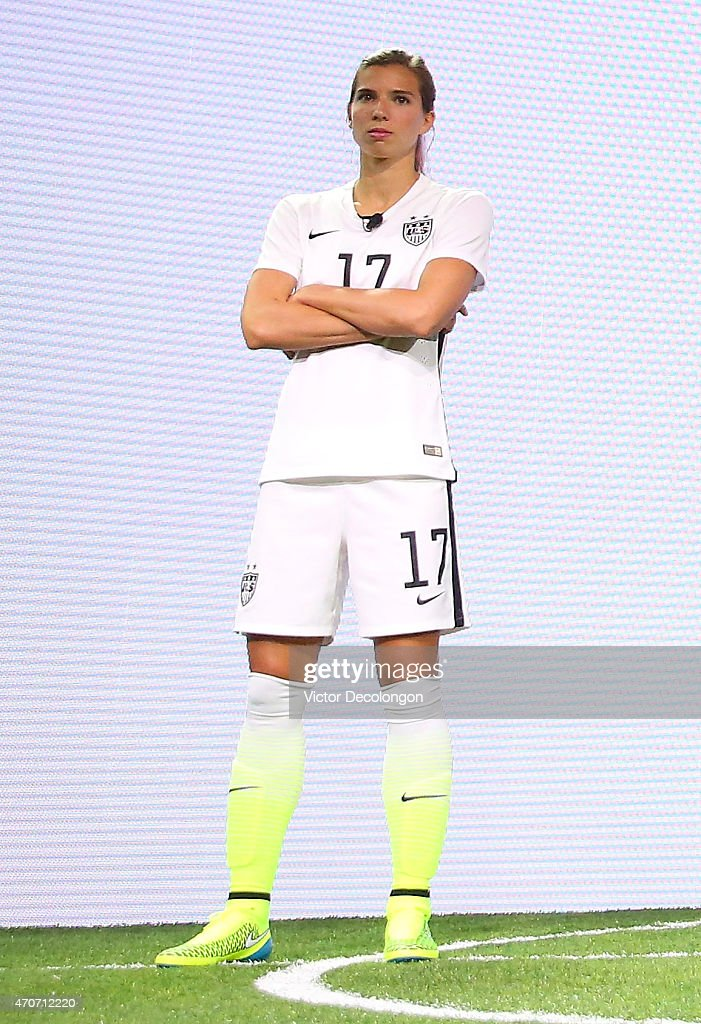 United States Women's Soccer Team And Nike Unveils World Cup Uniforms