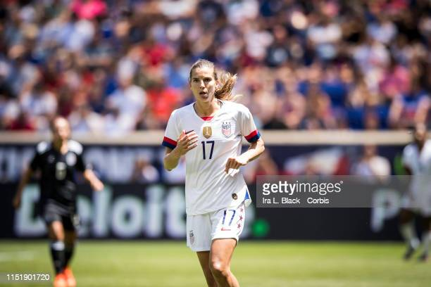 Tobin Heath of United States runs on the pitch during the International Friendly match the US Women's National Team and Mexico as part of the Send...