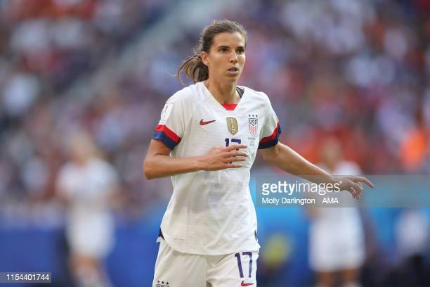 Tobin Heath of USA during the 2019 FIFA Women's World Cup France Final match between Winner The United States of America and Netherlands at Stade de...