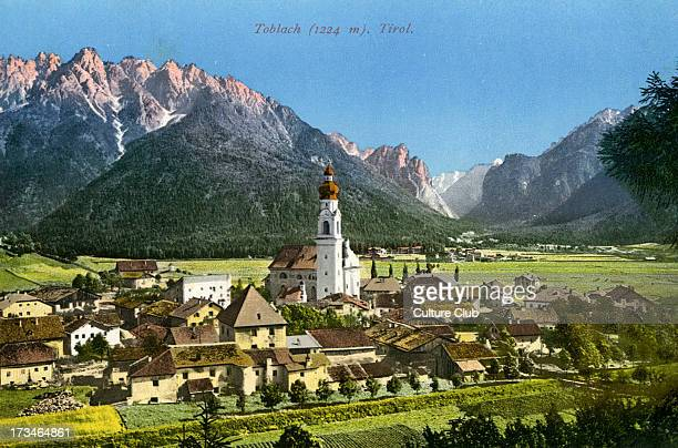 Toblach South Tyrol at time of Austro Hungarian Empire