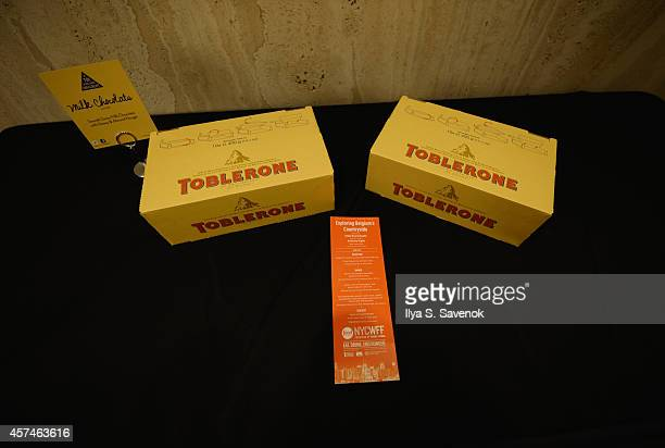 Toblerone at Exploring Belgium's Countryside hosted by Kobe Desramaults as a part of the Bank of America Dinner Series during the Food Network New...