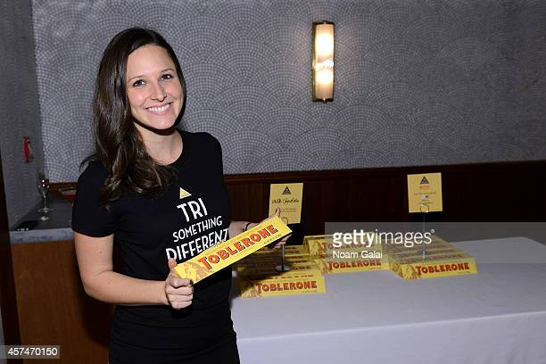 Toblerone brand ambassador attends the Ample Hills Brooklyn's Best Dessert Party during the Food Network New York City Wine Food Festival Presented...