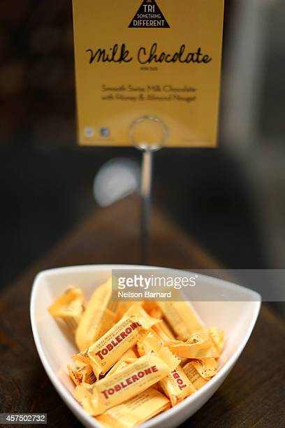 Toblerone products on display at the Grand Tasting presented by ShopRite featuring KitchenAid® culinary demonstrations presented by MasterCard during...