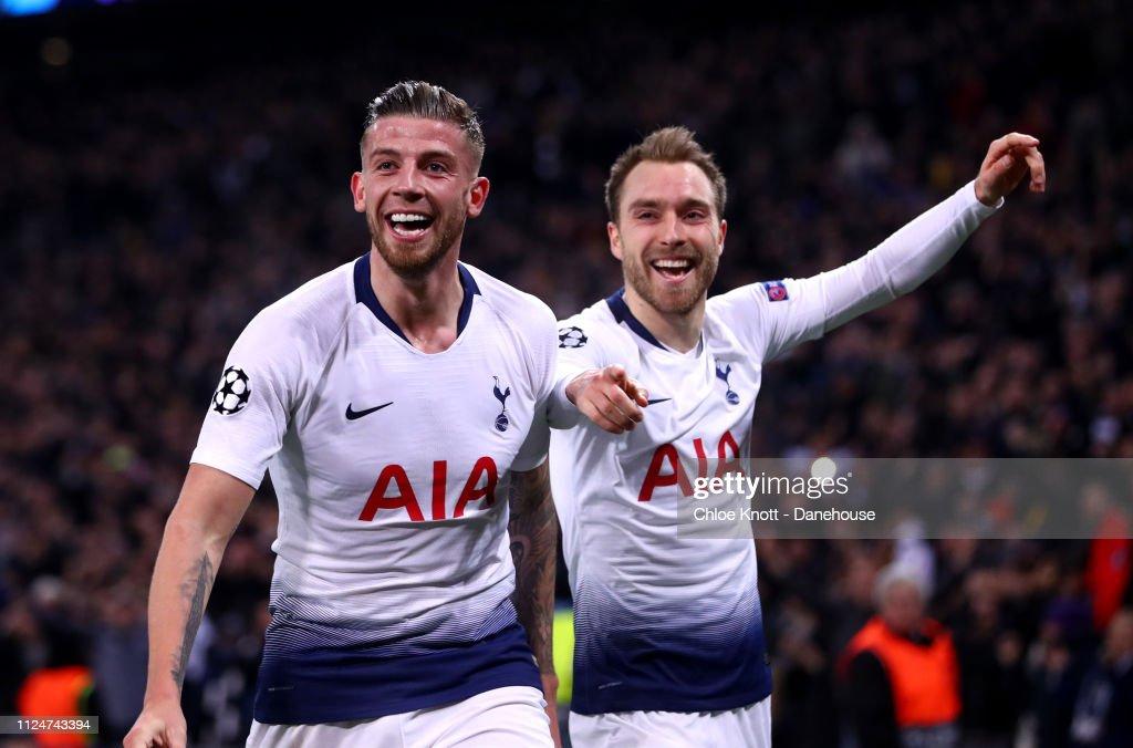 Tottenham Hotspur v Borussia Dortmund - UEFA Champions League Round of 16 First Leg : News Photo