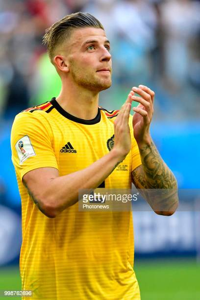 Toby Alderweireld defender of Belgium pictured during the FIFA 2018 World Cup Russia Playoff for third place match between Belgium and England at the...