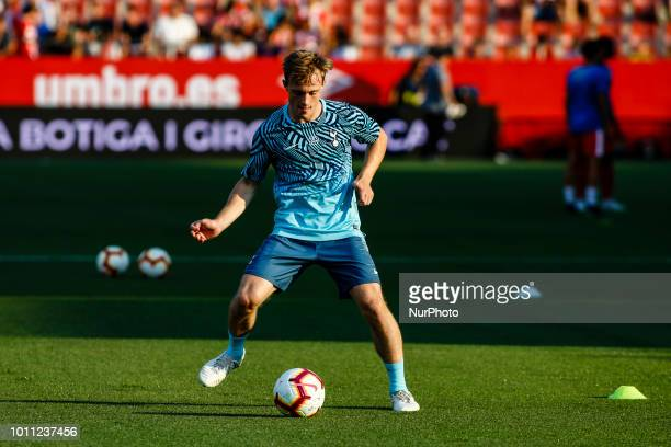 04 Toby Alderweireld from Belgium of Tottenham Hotspur during the friendly game Costa Brava trophy between Girona FC v Tottenham Hotspur in la...