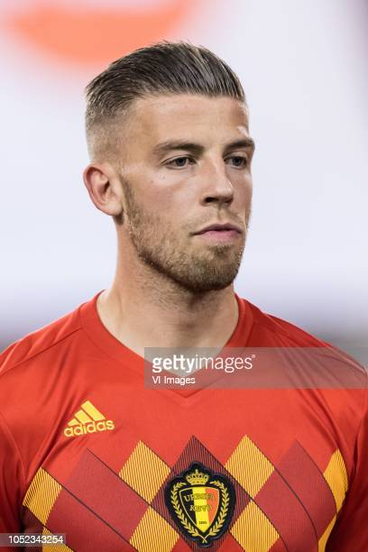 Toby Alderweireld of Belgium during the International friendly match between Belgium and The Netherlands at the King Baudouin Stadium on October 16...