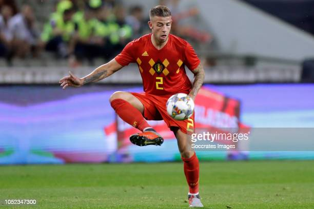 Toby Alderweireld of Belgium during the International Friendly match between Belgium v Holland on October 16 2018