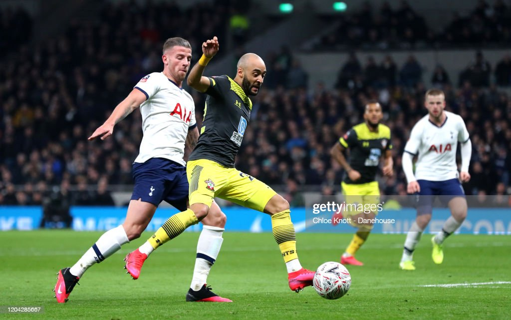Tottenham Hotspur v Southampton FC - FA Cup Fourth Round: Replay : News Photo