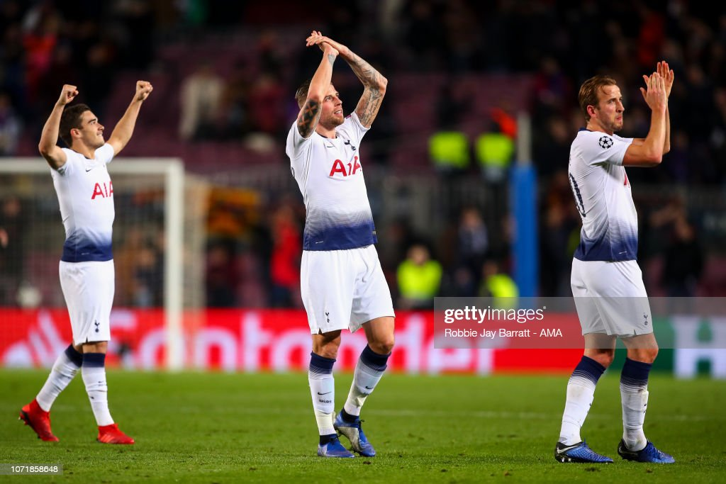 FC Barcelona v Tottenham Hotspur - UEFA Champions League Group B : News Photo