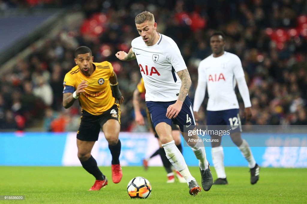 Tottenham Hotspur v Newport County - Fly Emirates FA Cup Round Four Replay : News Photo