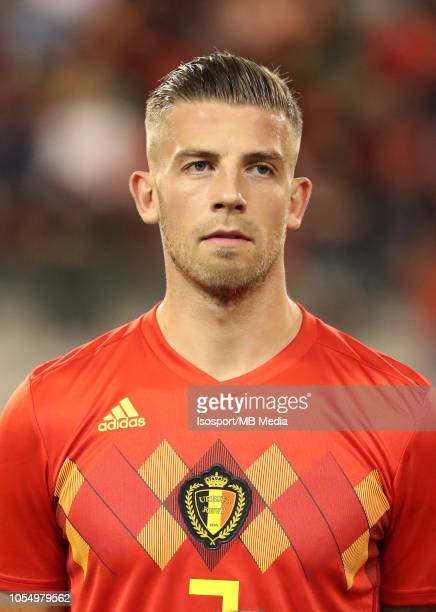 Toby Alderweireld pictured during the UEFA Nations League A group two match between Belgium and Switzerland at King Baudouin stadion on October 12...
