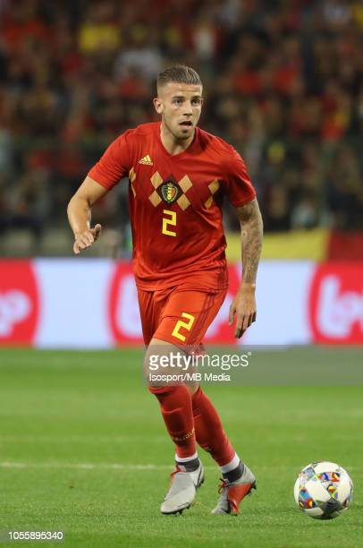 Toby Alderweireld pictured in action during the International Friendly match between Belgium and The Netherlands on October 16 2018 in Brussels...