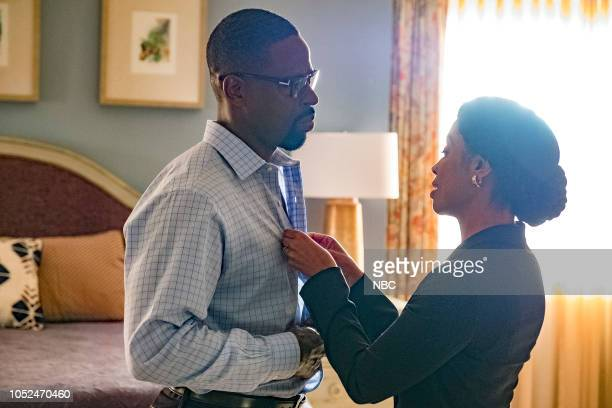 US Toby Episode 304 Pictured Sterling K Brown as Randall Pearson Susan Kelechi Watson as Beth Pearson