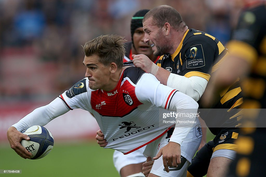 Stade Toulousain Vs London Wasps  (European Rugby Champions Cup) : News Photo