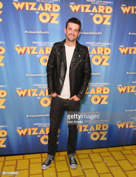 Toby Francis attends The Wizard of Oz Sydney Premiere at Capitol Theatre on January 4 2018 in Sydney Australia