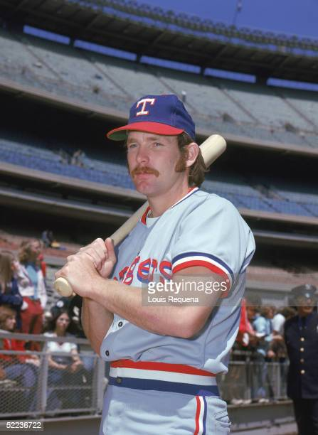 Toby Harrah of the Texas Rangers poses for a portrait Toby Harrah played for the Texas Rangers from 19721978 19851986