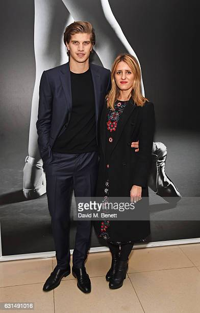 Toby HuntingtonWhiteley and Cecily Brown attend the opening night reception of the English National Ballet's production of 'Giselle' hosted by St...